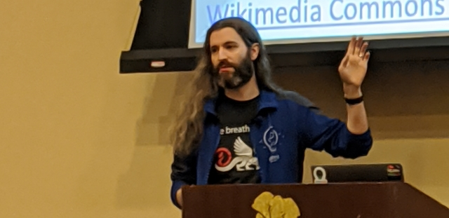 Brian Meeker speaking at CodeMash 2020